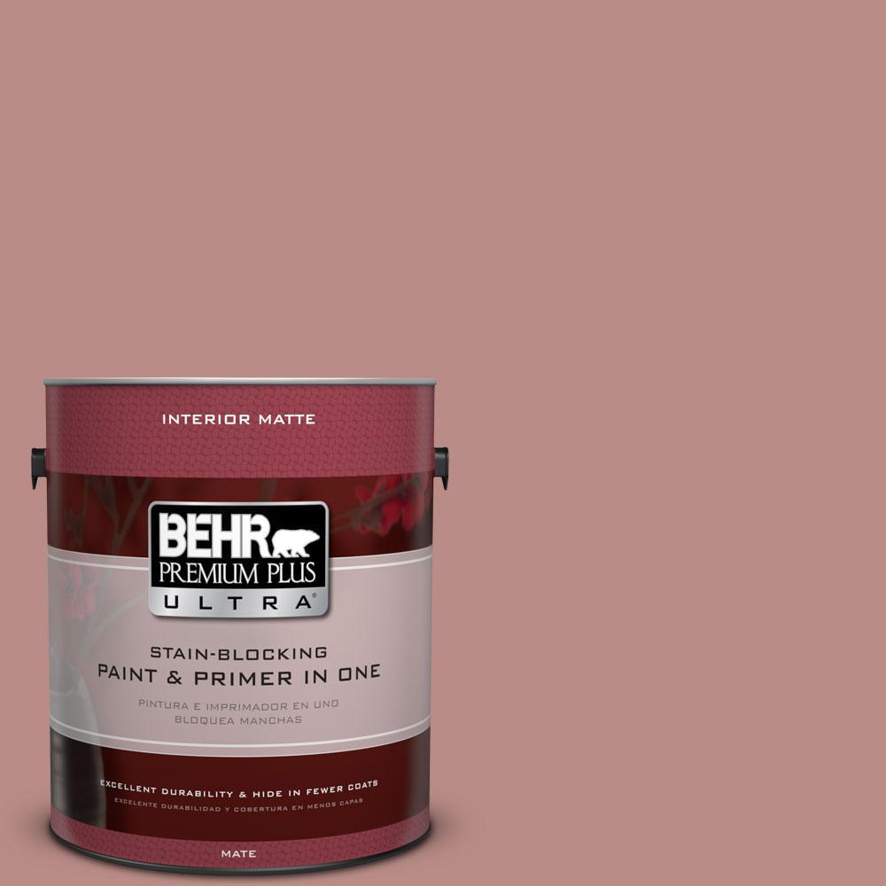 1 gal. #170F-5 Brick Dust Flat/Matte Interior Paint