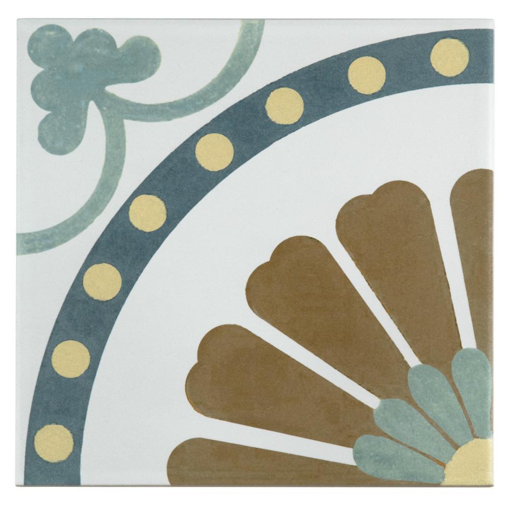 Merola tile revival ring 7 34 in x 7 34 in ceramic floor and merola tile revival ring 7 34 in x 7 3 dailygadgetfo Gallery