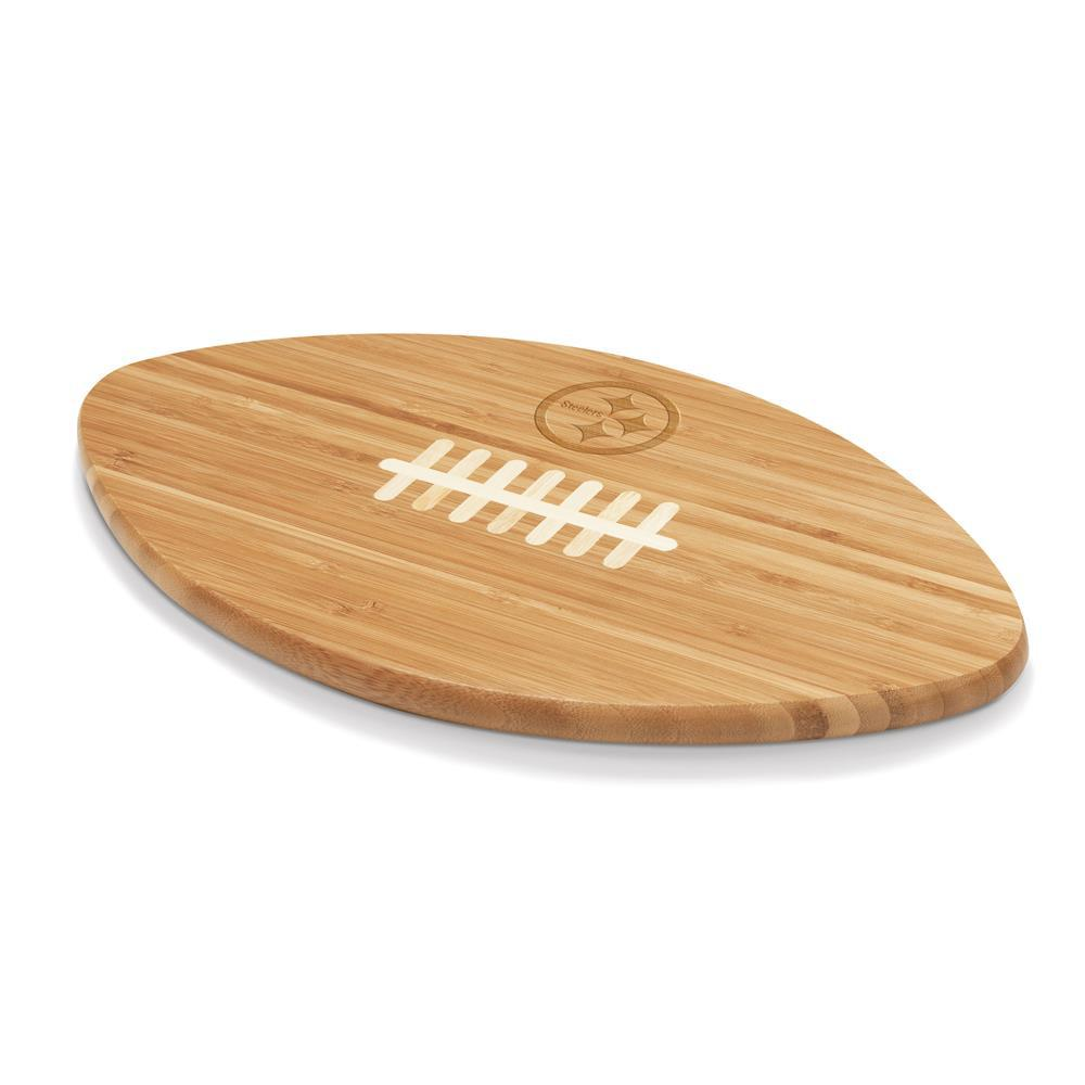 Pittsburgh Steelers Touchdown Pro Bamboo Cutting Board