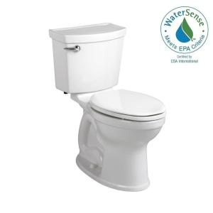 American Standard Champion 4 Max Tall Height 2-piece High-Efficiency 1.28 GPF Single Flush Elongated Toilet in White by American Standard