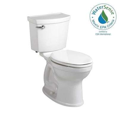 Champion 4 Max Tall Height 2-piece High-Efficiency 1.28 GPF Elongated Toilet in White