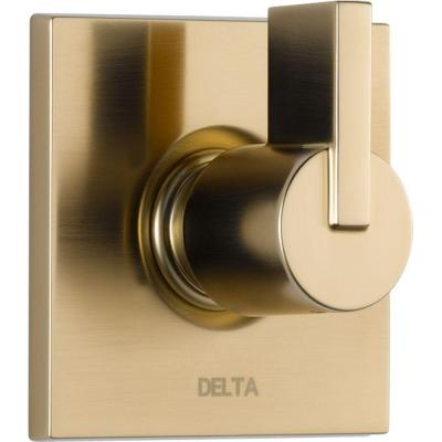 Vero 1-Handle 3-Setting Diverter Valve Trim Kit in Champagne Bronze (Valve Not Included)