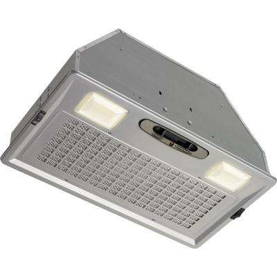 20.5 in. 390 CFM Power Pack for Custom Range Hood in Silver