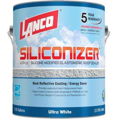 1 Gal. Siliconizer Elastomeric Roof Coating