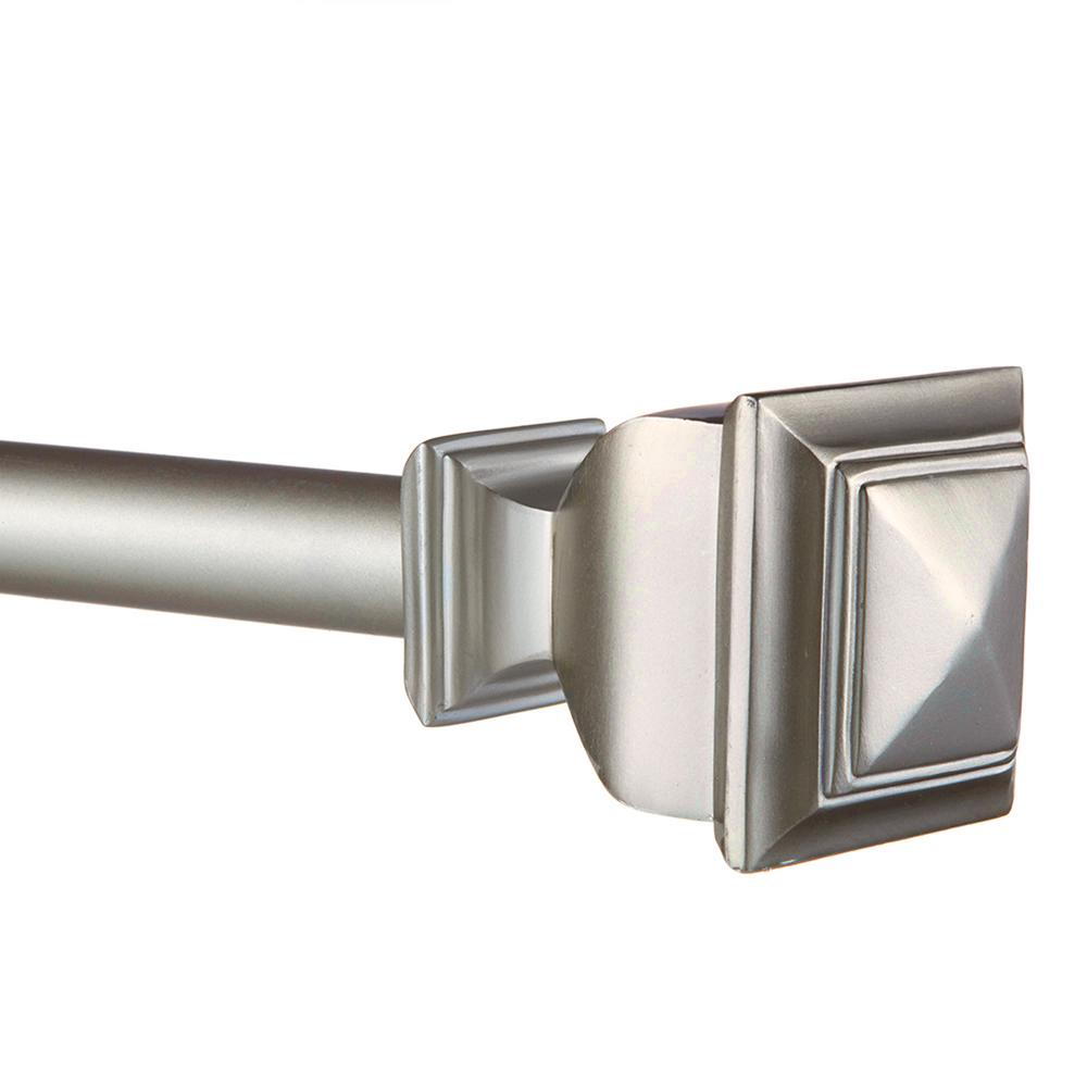 66 In 120 In Adjustable Length 1 In Dia Curtain Rod