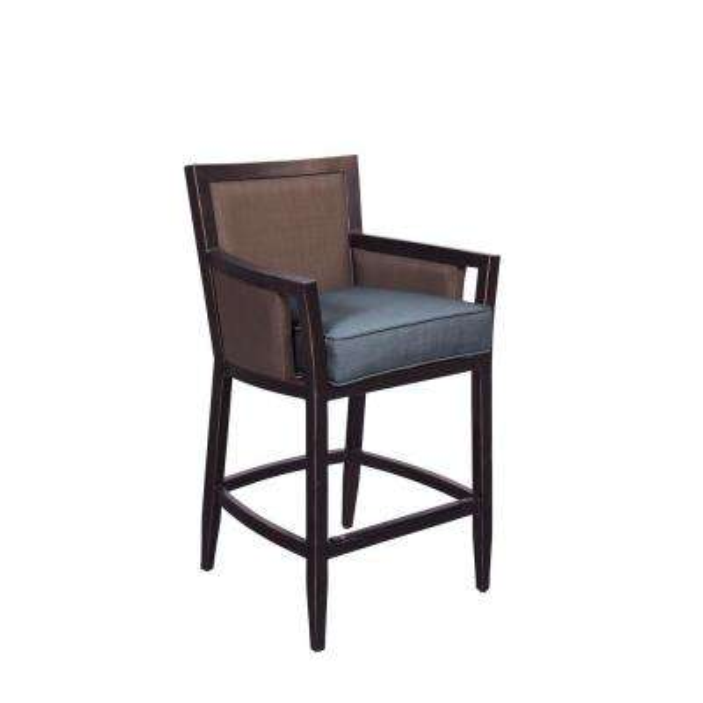Greystone Patio High Dining Chair in Denim (2-Pack) -- CUSTOM
