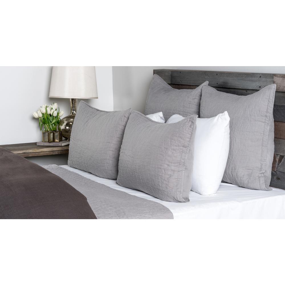 Cressida Lt Gray Standard Pillow Cover