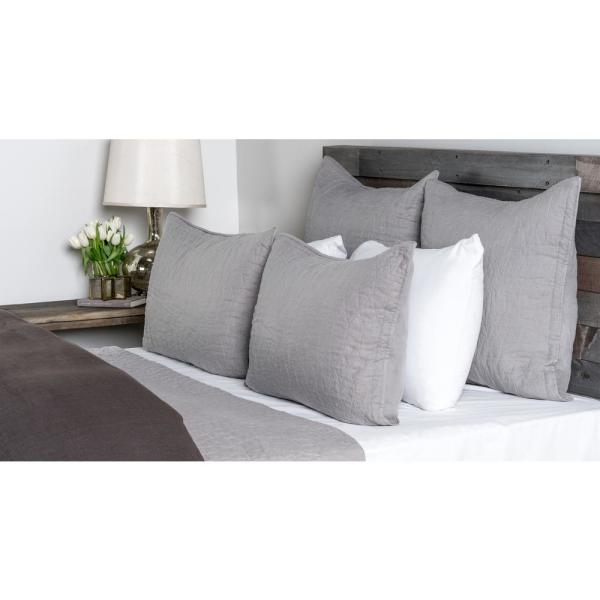 undefined Cressida Lt Gray Standard Pillow Cover
