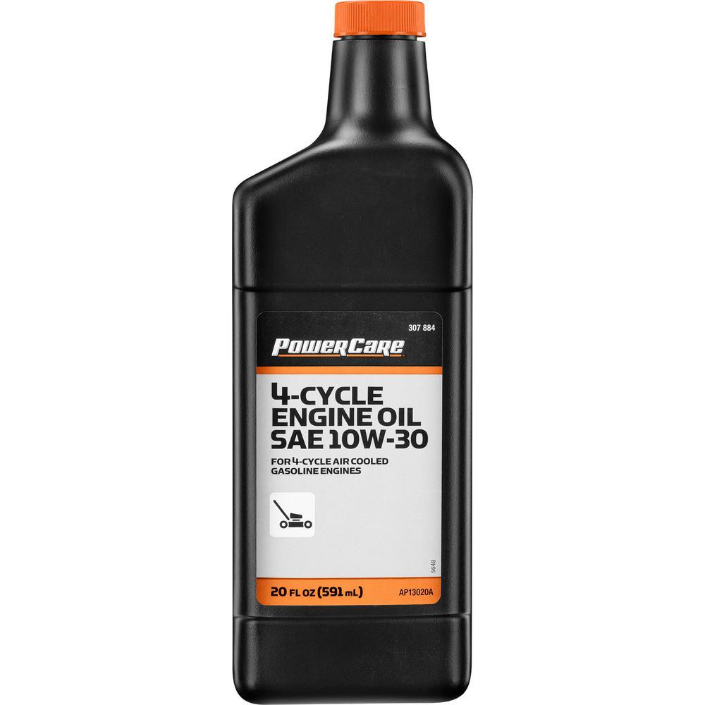 Premium-Grade 20 oz. 10W-30 Lawn Mower Oil
