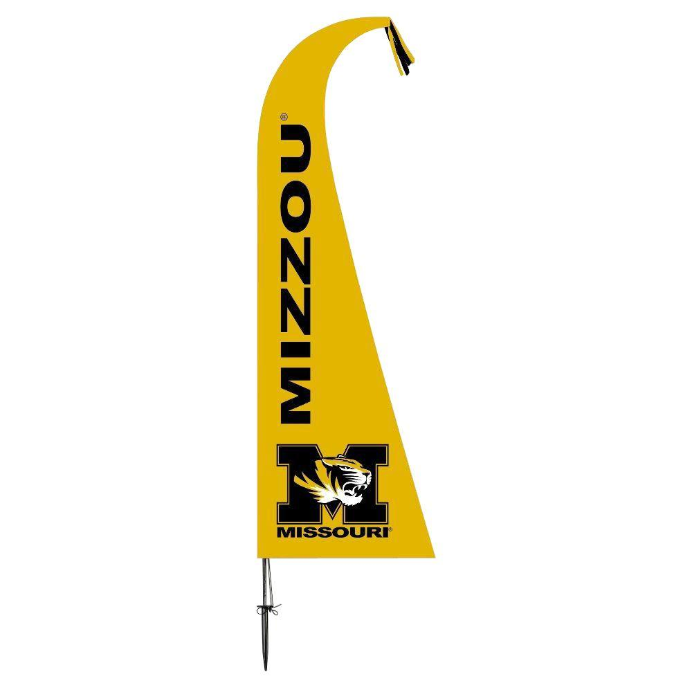BSI Products NCAA Missouri Tigers Feather 1 ft. x 1.5 ft. Flag