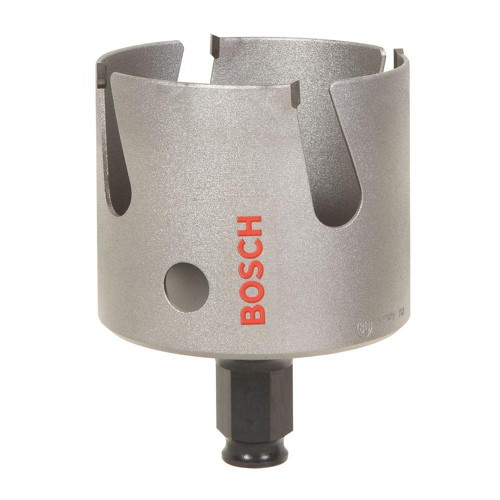 Bosch 1-3/4 in. MultiConstruction Carbide-Tipped Hole Saw for Wood, Masonry, Metal and Fiber Cement