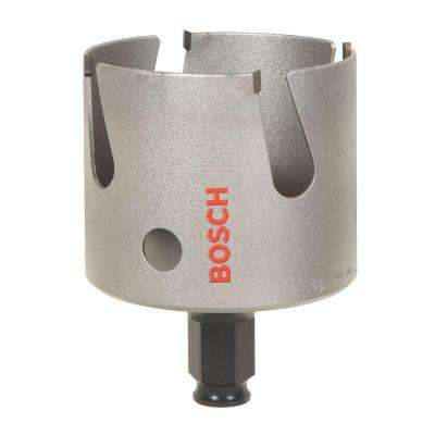 2-1/4 in. MultiConstruction Carbide-Tipped Hole Saw for Wood, Masonry, Metal and Fiber Cement