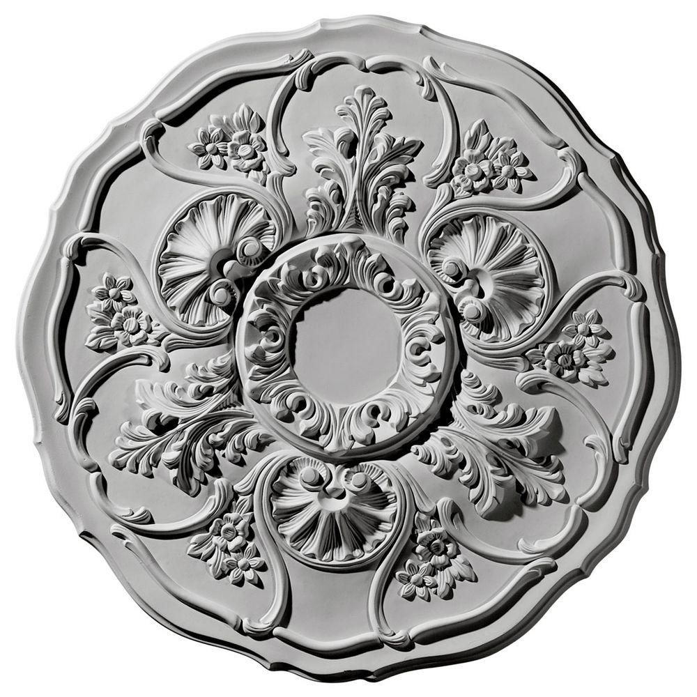 22-1/2 in. O.D. Cornelia Ceiling Medallion