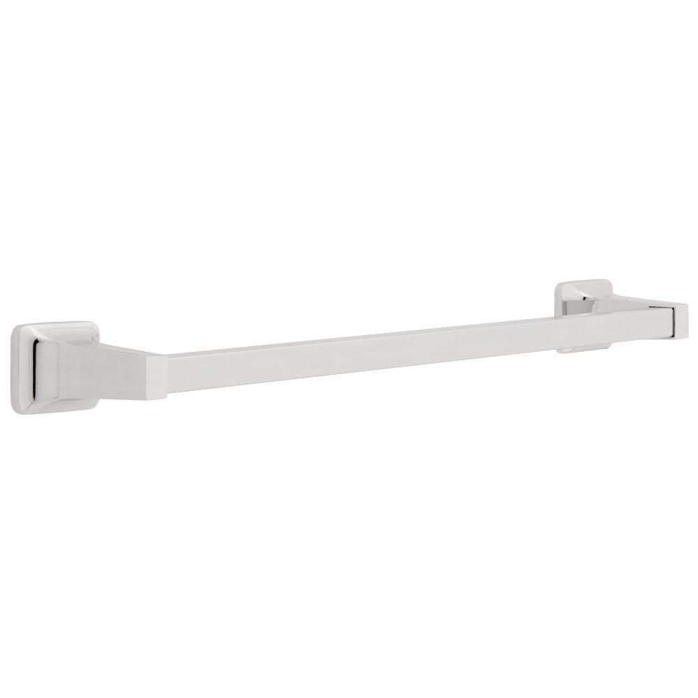 Franklin Brass Futura 18 in. Towel Bar in White-D2418W - The Home Depot