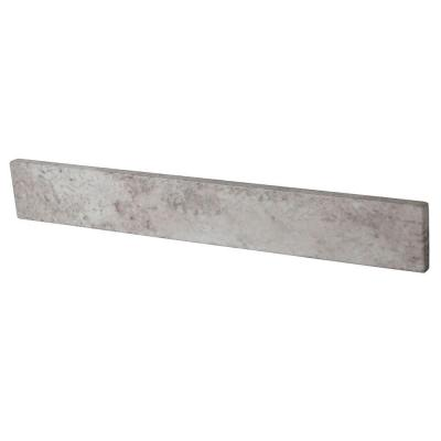 21 in. W Stone Effects Sidesplash in Winter Mist