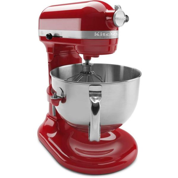 Kitchenaid Professional 600 Series 6 Qt Empire Red Stand Mixer