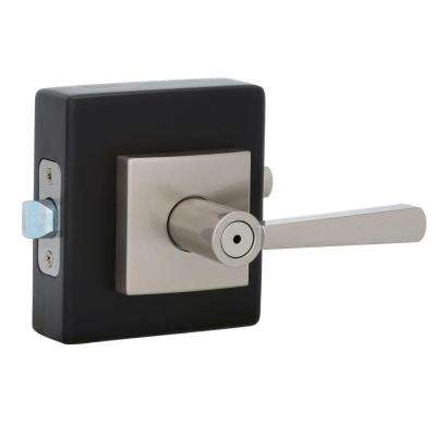 Prestige Spyglass Satin Nickel Bed/Bath Lever