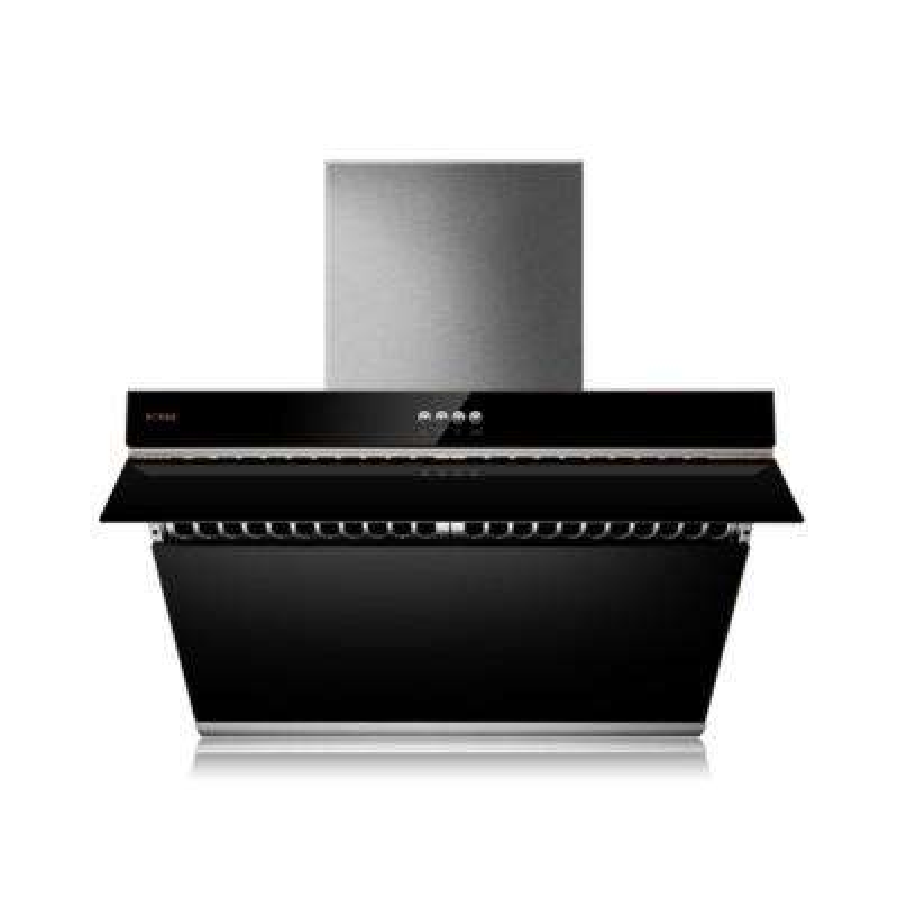 V Series 30 in. 500 CFM Side Draft Air Filtration Under Cabinet or Wall Mount Range Hood in Onyx Black