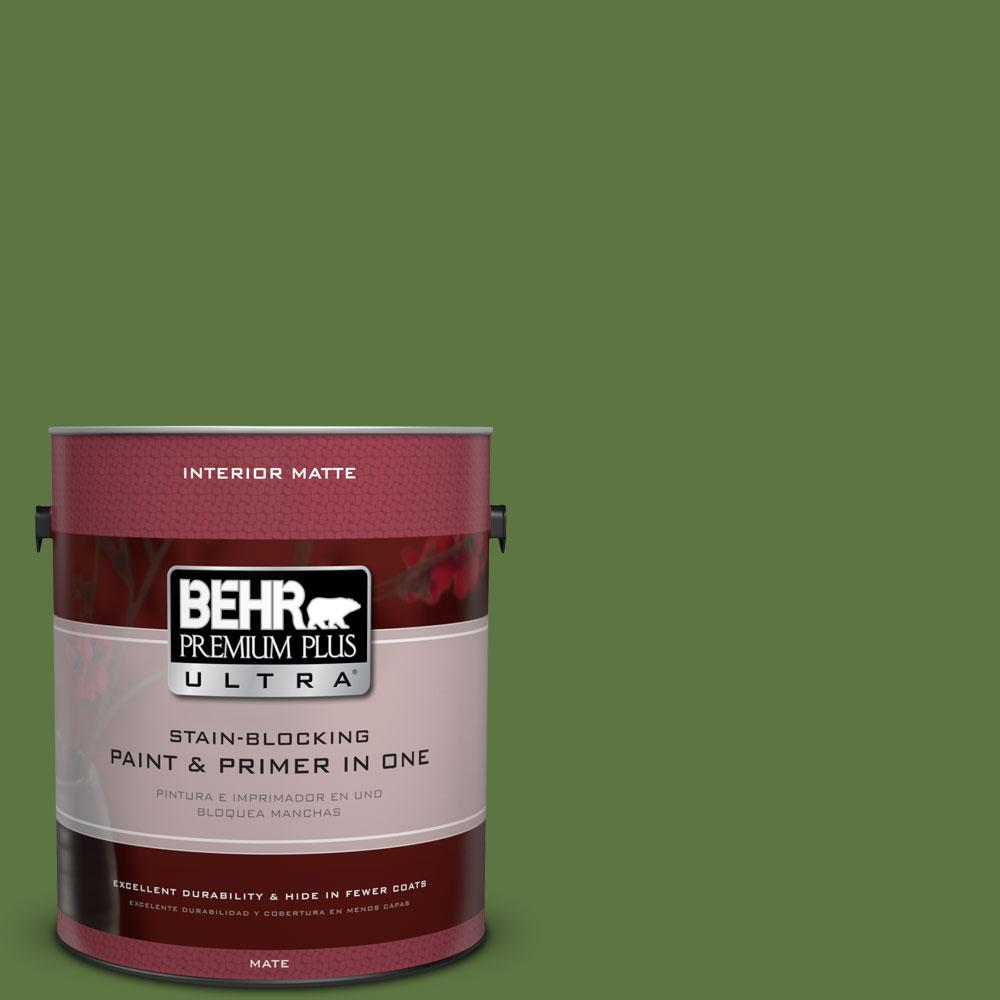 1 gal. #420D-7 Dill Pickle Flat/Matte Interior Paint