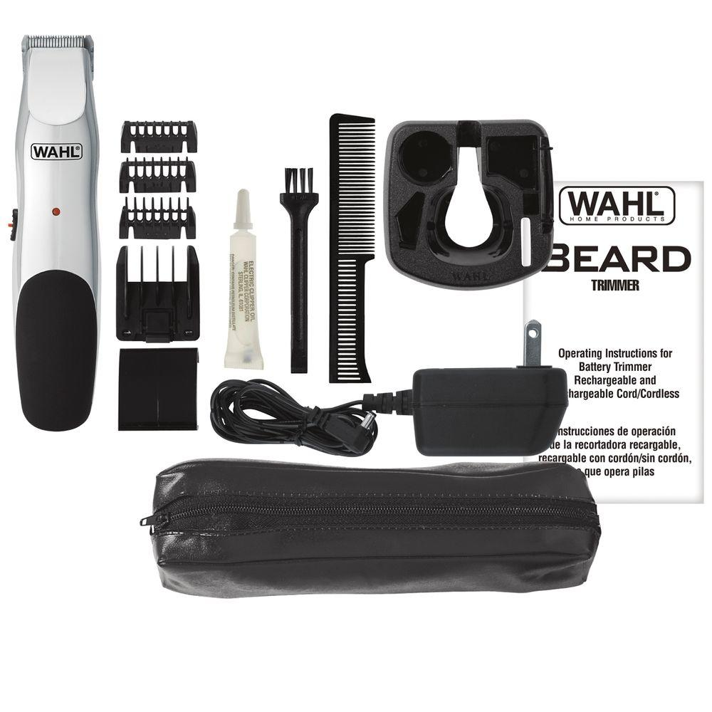 Beard Trimmer in Chrome