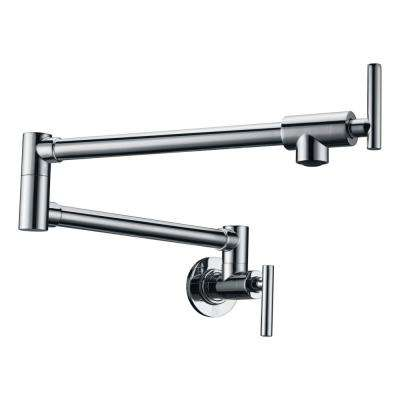 Braccia Series 24 in. Wall Mounted Potfiller in Polished Chrome