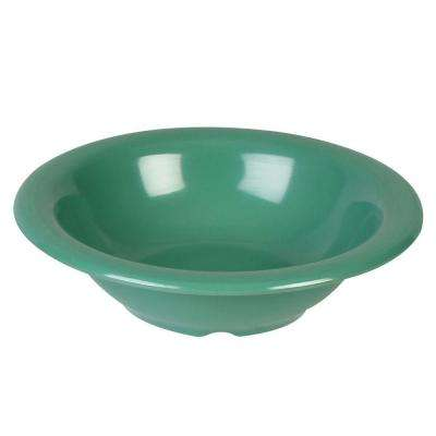 Coleur 15 oz., 7-1/4 in. Soup Bowl in Green (12-Piece)