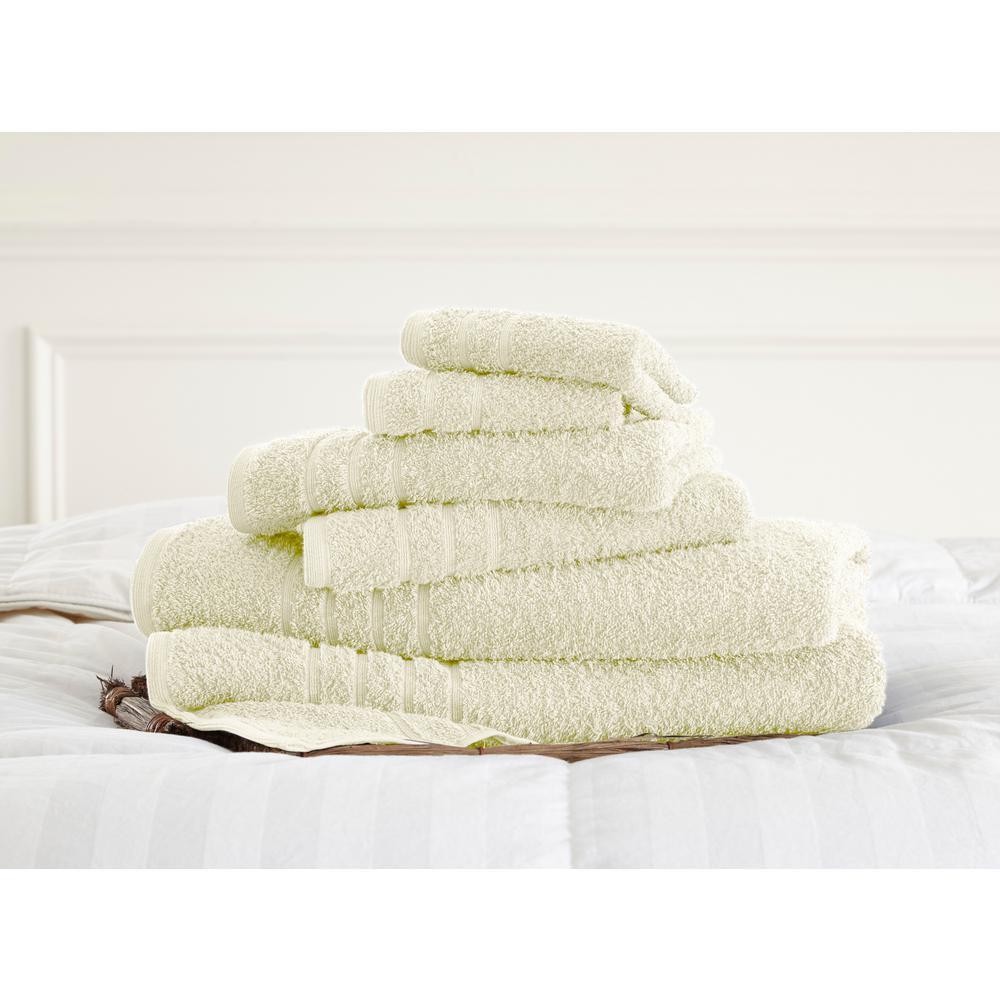 Luxurious SPA Collection 100/% Cotton Bath Towels Soft 600 GSM 6 Pack Set Blue