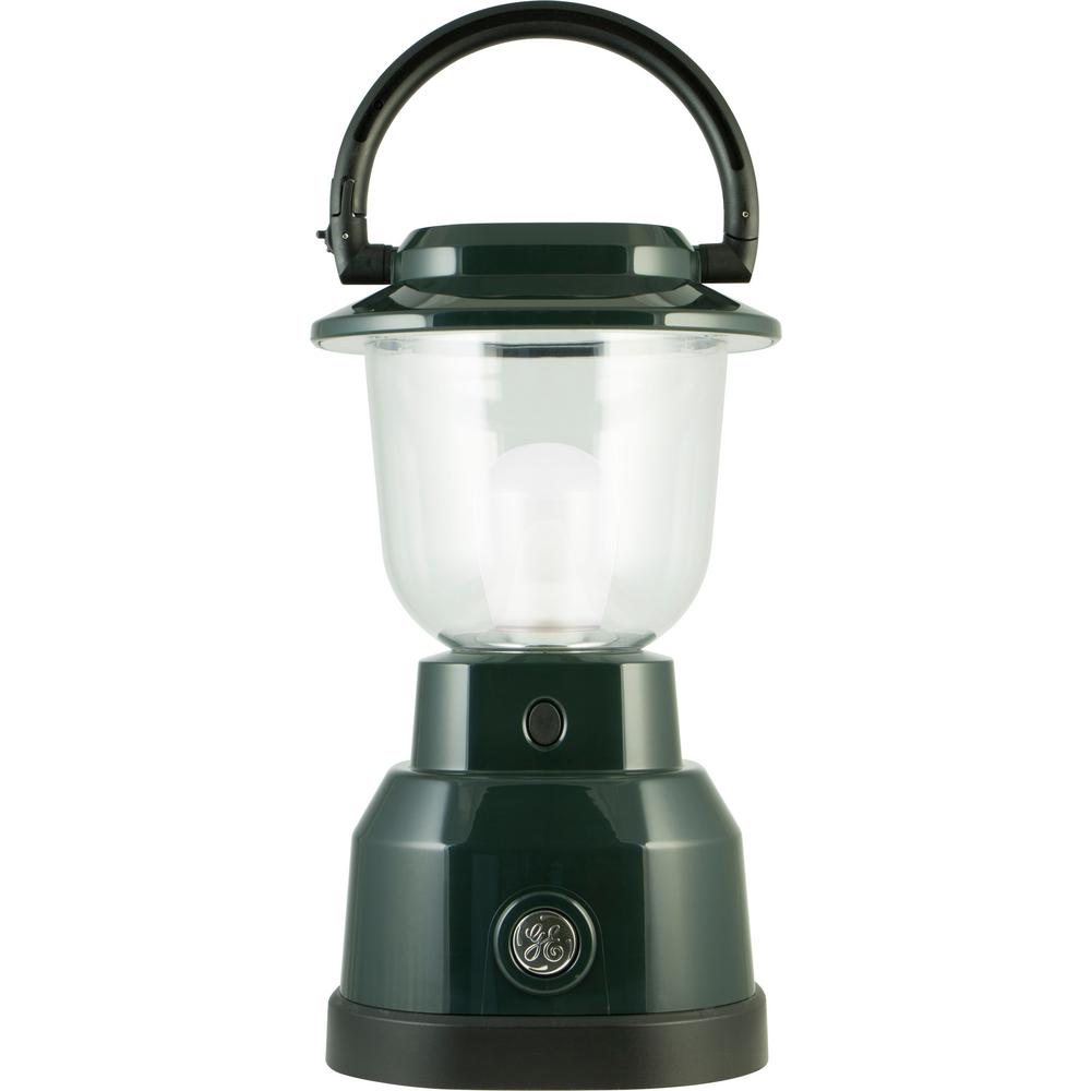 Plus Series Battery Operated LED Green Remote Phosphor Lantern