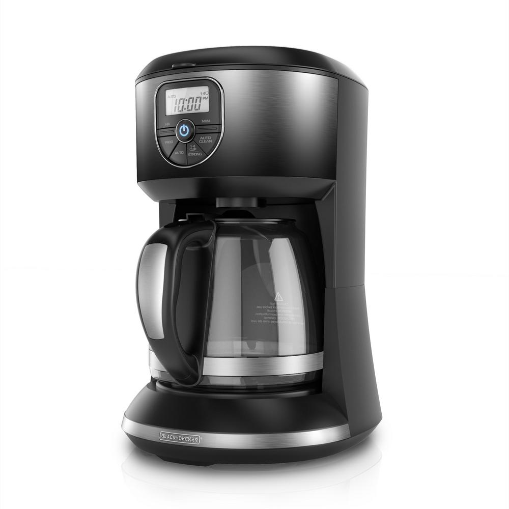 12-Cup Black Ombre Programmable Coffee Maker