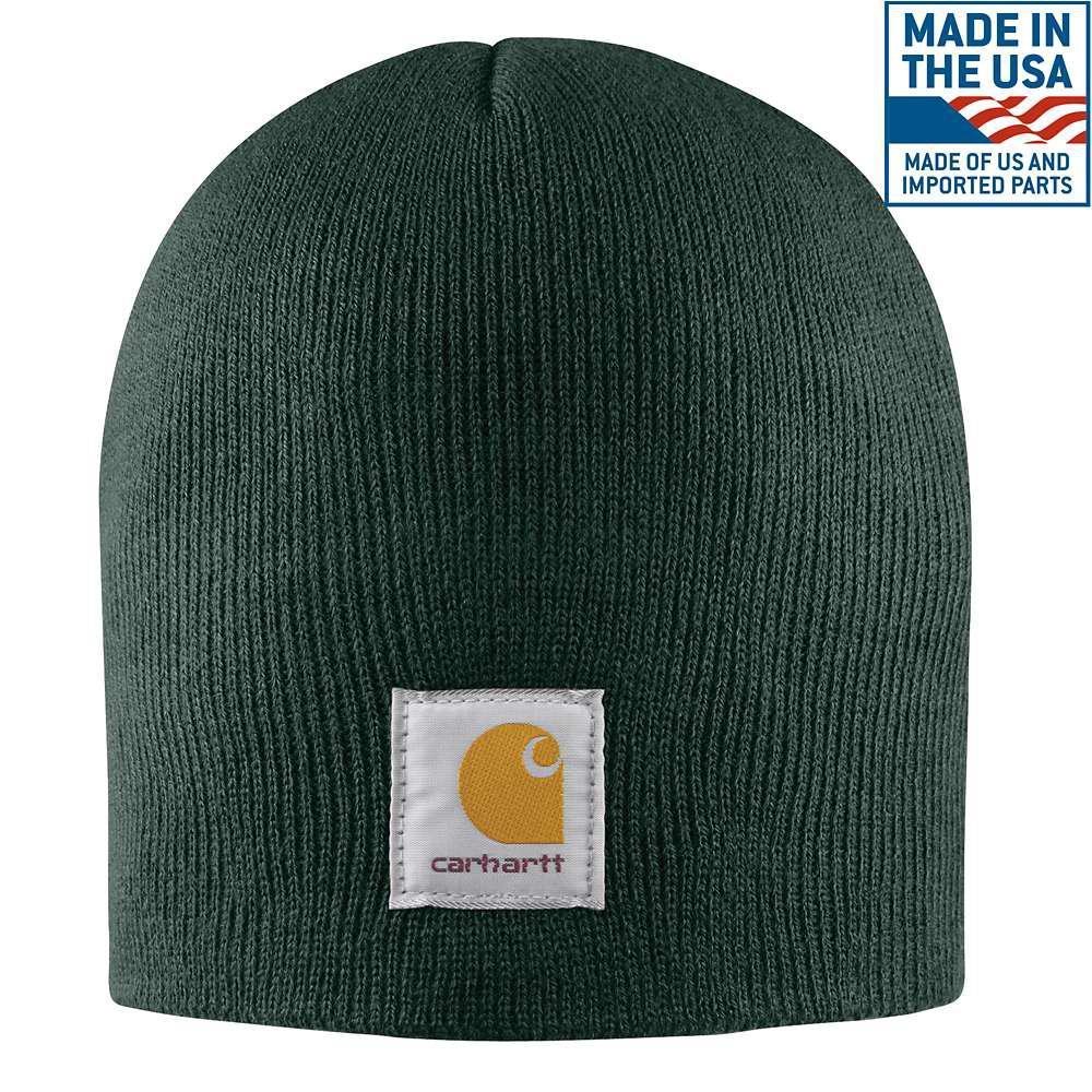 Men's OFA Dark Green Acrylic Hat Headwear