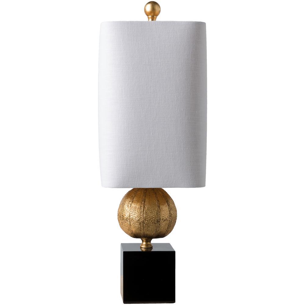 Zuri 22.75 in. Gold Indoor Table Lamp