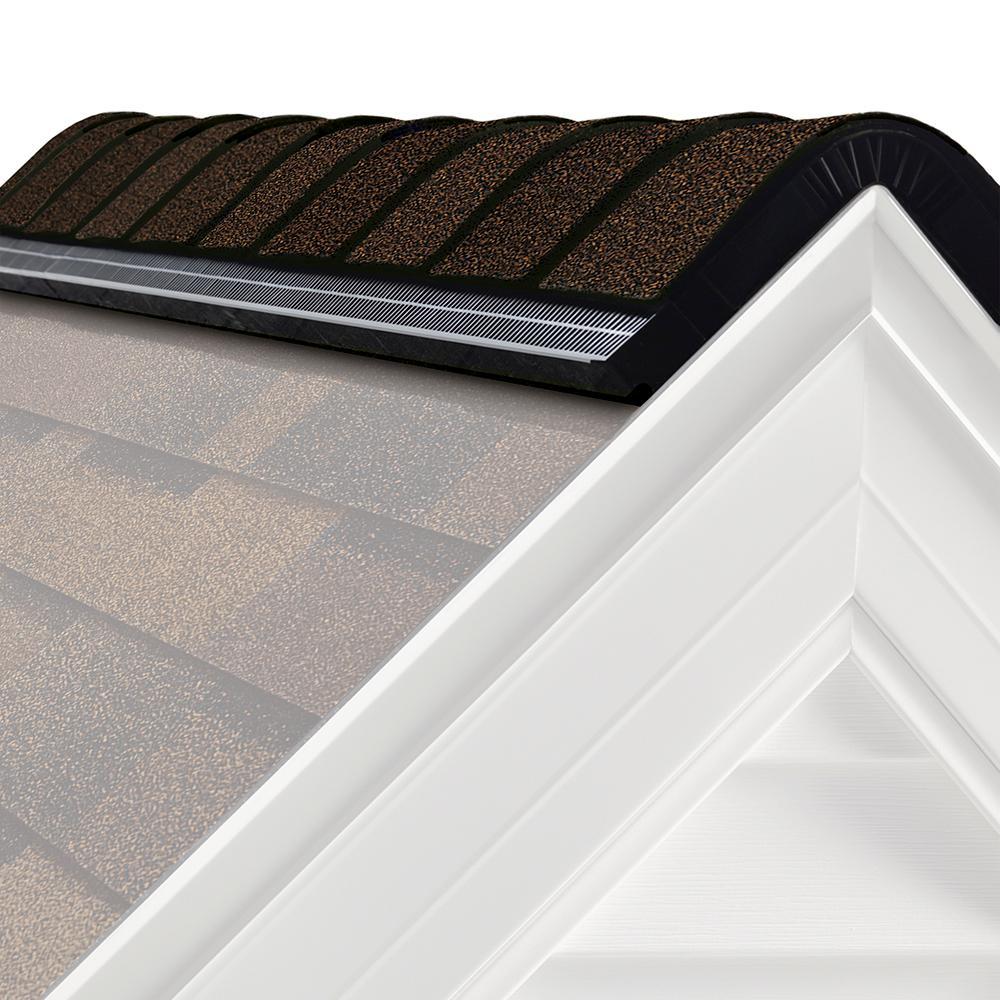 RIZERidge Algae Resistant Brownwood Hip And Ridge Asphalt Roofing Shingles  (33