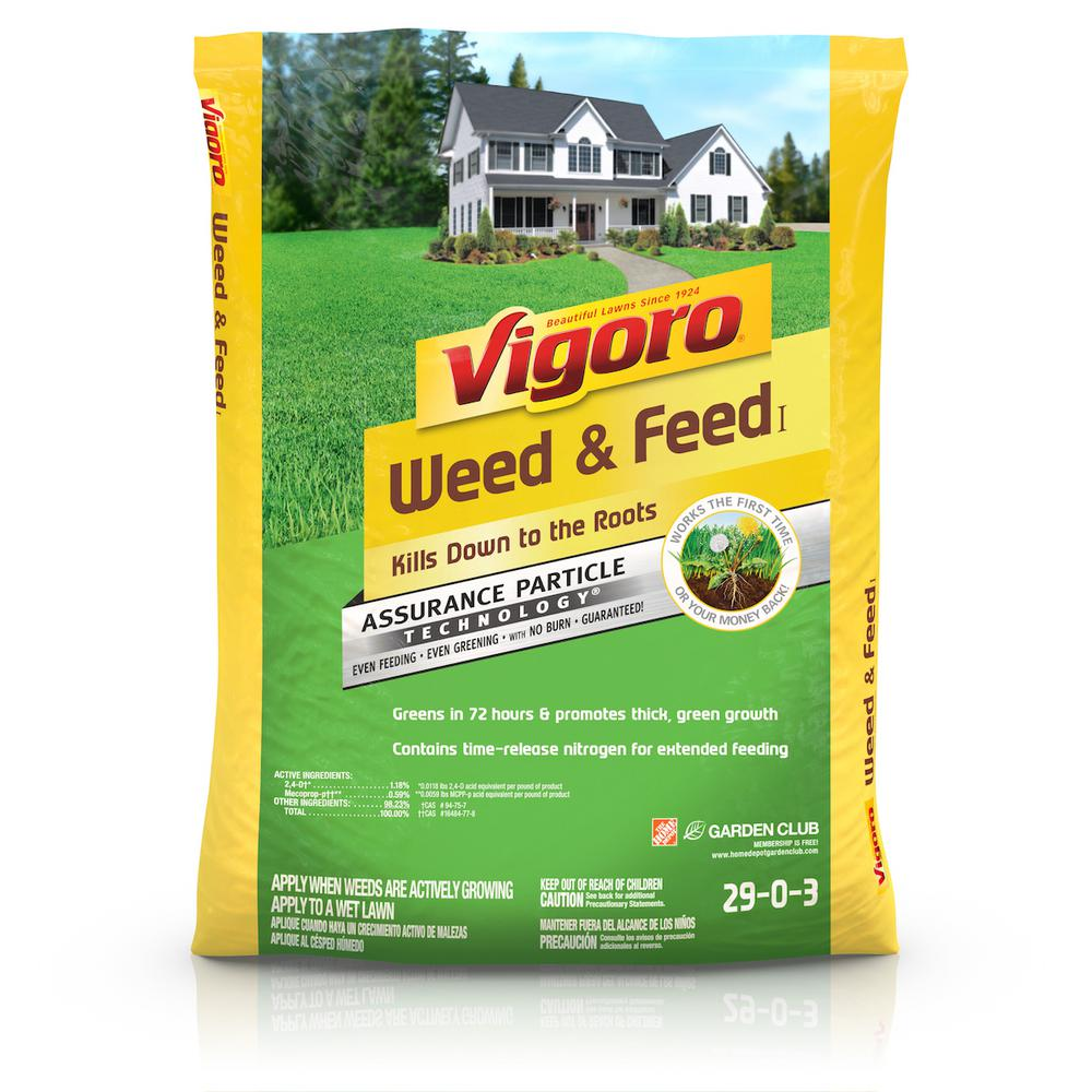 Vigoro 14.96 lb. 5,000 sq. ft. Weed and Feed Fertilizer