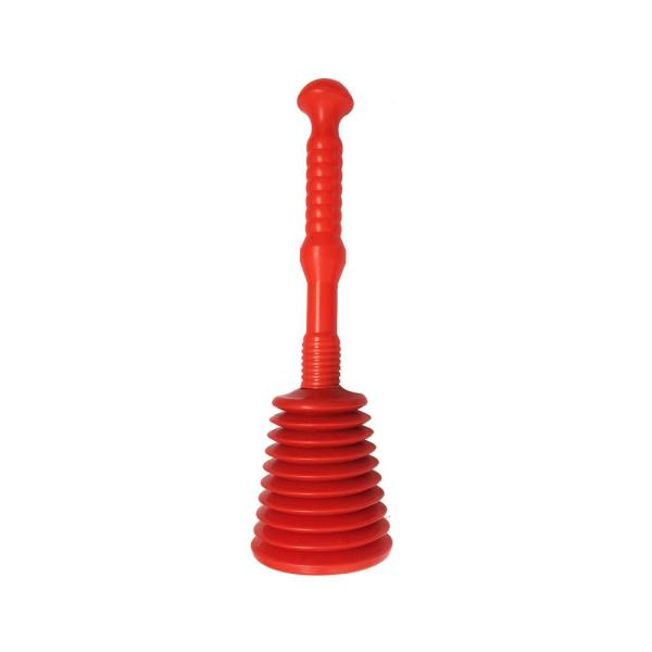 5 in. Red Bellows Plunger