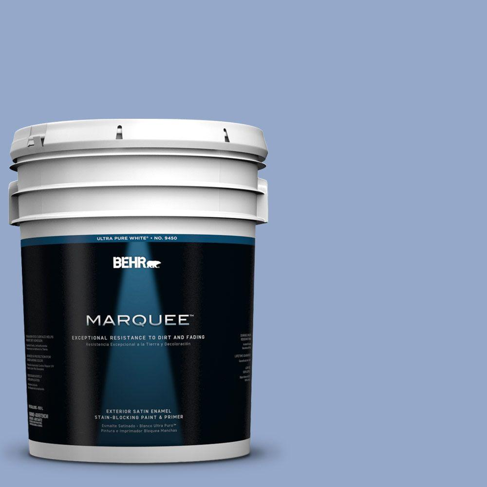 BEHR MARQUEE 5-gal. #600D-4 Finesse Satin Enamel Exterior Paint