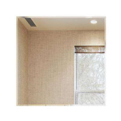 30 in. Square Beveled Polished Frameless Decorative Wall Mirror with Hooks