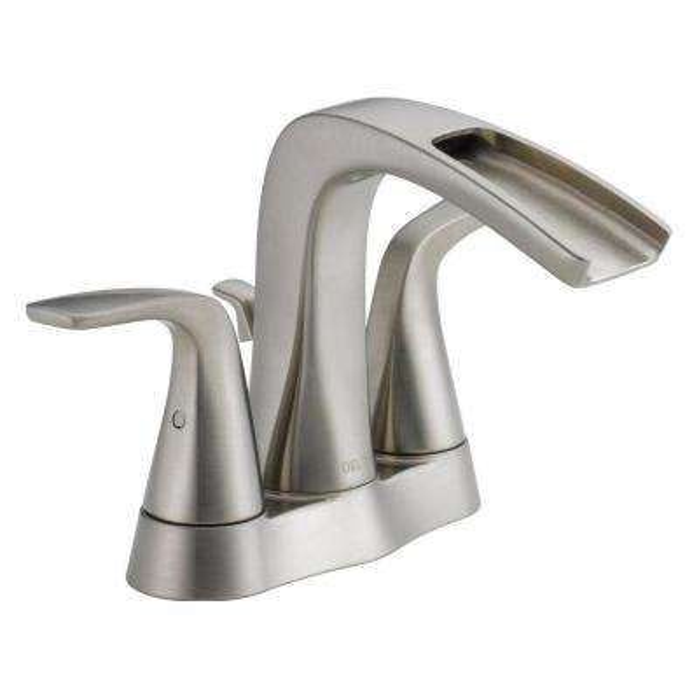 Tolva 4 in. Centerset 2-Handle Bathroom Faucet in Brushed Nickel