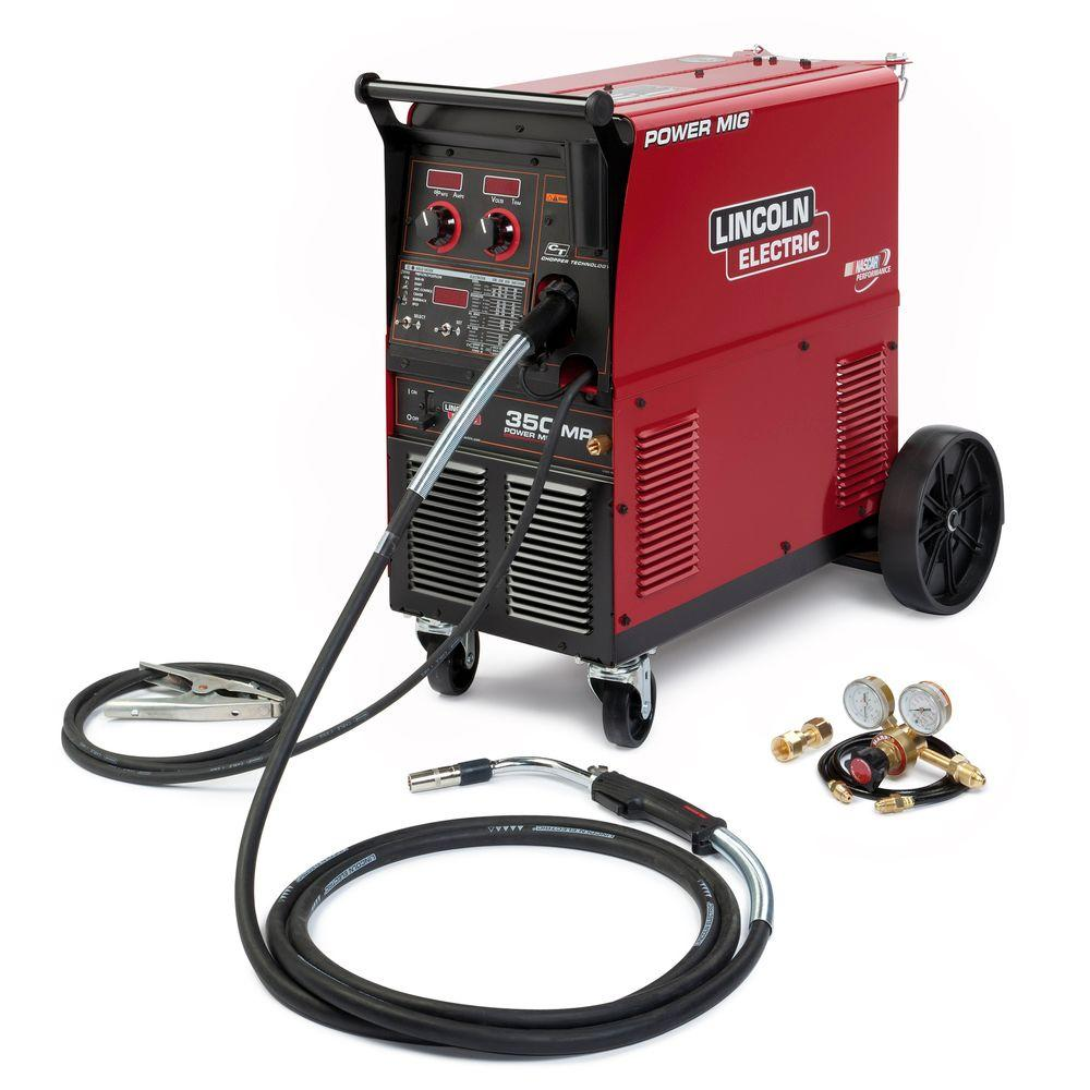 350 Amp Power MIG 350MP MIG Wire Feed Welder with Magnum