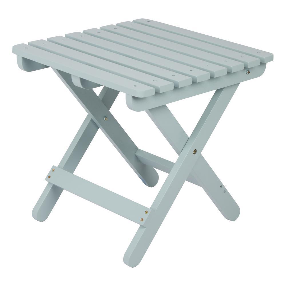 Adirondack Dutch Blue Square Wood Folding Table