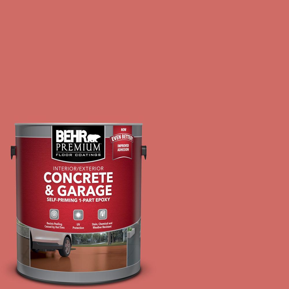 BEHR Premium 1 gal. #M160-6 Matadors Cape Self-Priming 1-Part Epoxy Satin Interior/Exterior Concrete and Garage Floor Paint