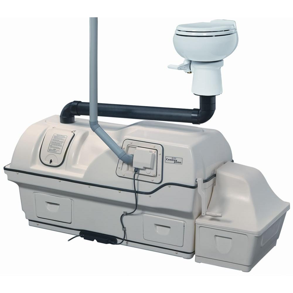 Centrex 3000 Electric Waterless Ultra High Capacity Central Composting Toilet
