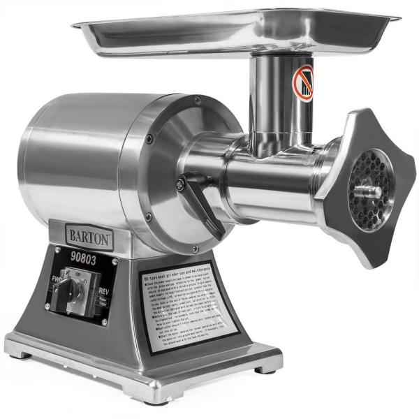 1100-Watts Portable Electric Stainless Steel Meat Grinder Mincer Sausage Maker with #22 Cutting Plate/Blade