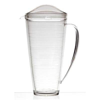5-Piece Double-Wall Insulated Acrylic Pitcher and Tumblers Set