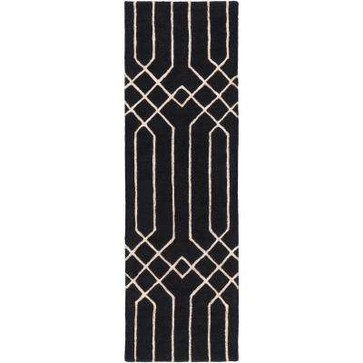 hover braided kendrick country rug to zoom scalloped rugs runner x product