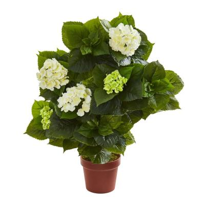 Indoor 29 in. Hydrangea Artificial Plant