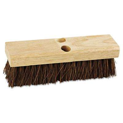 10 in. Palmyra Bristles Upright Deck Brush Head