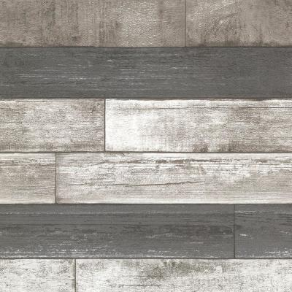 Dustin Grey Wood Wallpaper