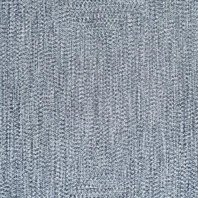 Lefebvre Casual Braided Light Blue 10 ft. Square Indoor/Outdoor Area Rug