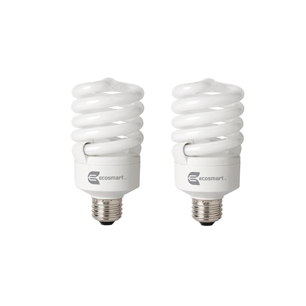 100-Watt Equivalent A19 Spiral Dimmable TruDim CFL Light Bulb Daylight (6500K)
