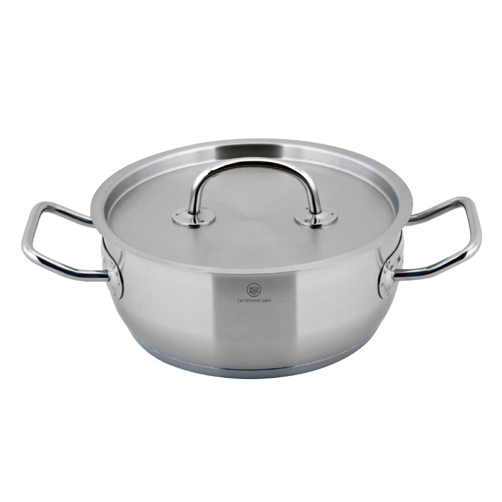 Pro-X 2.1 Qt. Stainless Steel Stock Pot with Lid